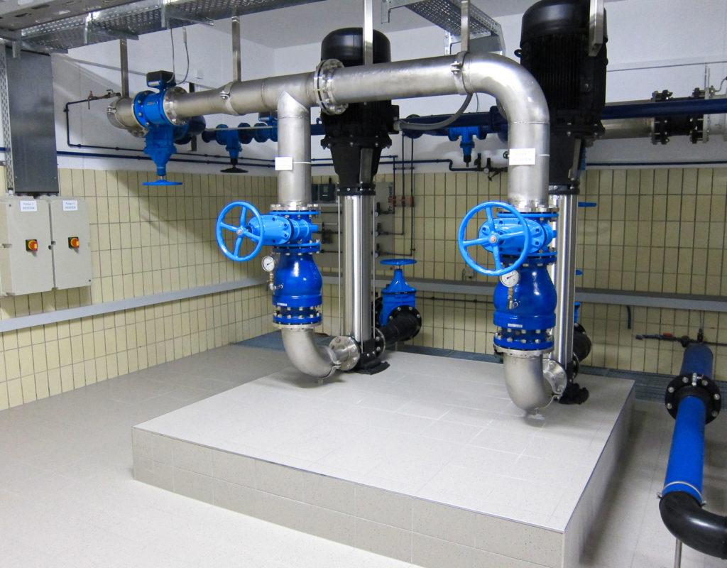 einer Wasserversorgung